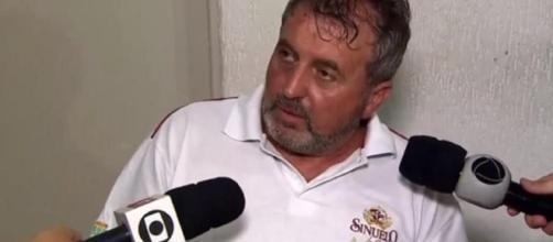 Motorista contou que não viu a aeronave (Crédito: reprodução TV Globo).