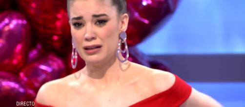Noelia se derrumba en su final (Mediaset)