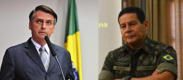 Bolsonaro brinca com Mourão por telefone - (Foto: Gustavo Lima/Zeca Ribeiro/Agência Brasil)