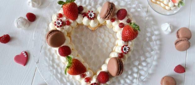 Cream Tart alle fragole per San Valentino