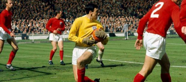 Gordon Banks ai Mondiali del 1966 vinti dall'Inghilterra