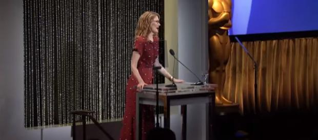 Oscars Luncheon photo. - [Oscars / YouTube screencap]