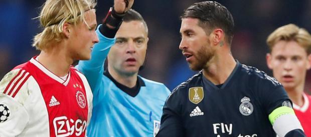 Sergio Ramos: Real Madrid defender denies intentional booking ... - globallatestnews.com