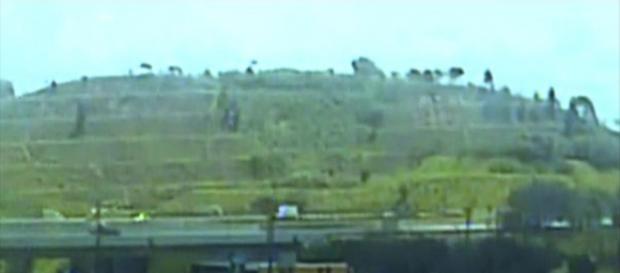 Vídeo mostra helicóptero com Boechat caindo no Rodoanel - Foto/Reprodução/G1