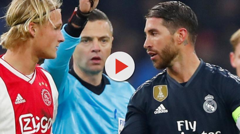 Sergio Ramos se juega una sanción de la UEFA
