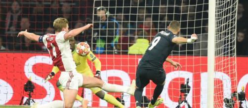 Benzema otra vez fue clave con otro gol más en Champions. - standard.co.uk