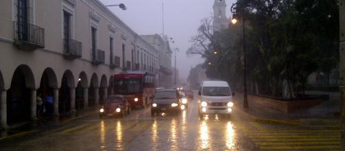 Habrá lluvias dispersas en la península de Yucatán. - com.mx