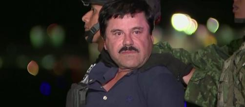 Notorious drug lord El Chapo Guzman has been convicted of drug-trafficking charges at his trial in New York. [Image Credit] AP - YouTube]