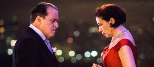 Olavo e Valentina (Reprodução TV Globo)