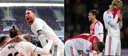 Rea Madrid encara o Ajax pela Liga dos Campeões. (Foto: Reprodução)