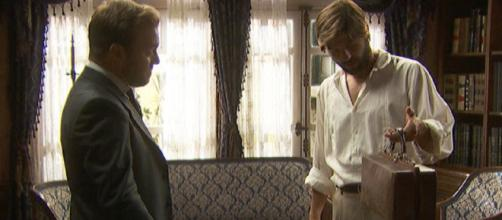 Spoiler Il Segreto: Gonzalo accetta di abbandonare la moglie su richiesta di Fernando