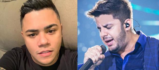 Cristiano Araújo e Felipe Araújo (Reprodução Instagram)