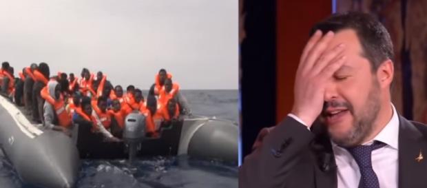 La storia arriva dalla Valtellina e viene postata Salvini