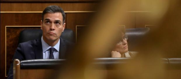 Imagen de Pedro Sánchez en el Congreso de los Diputados