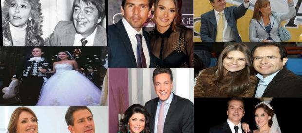 Unión de los políticos y famosas muy común en México