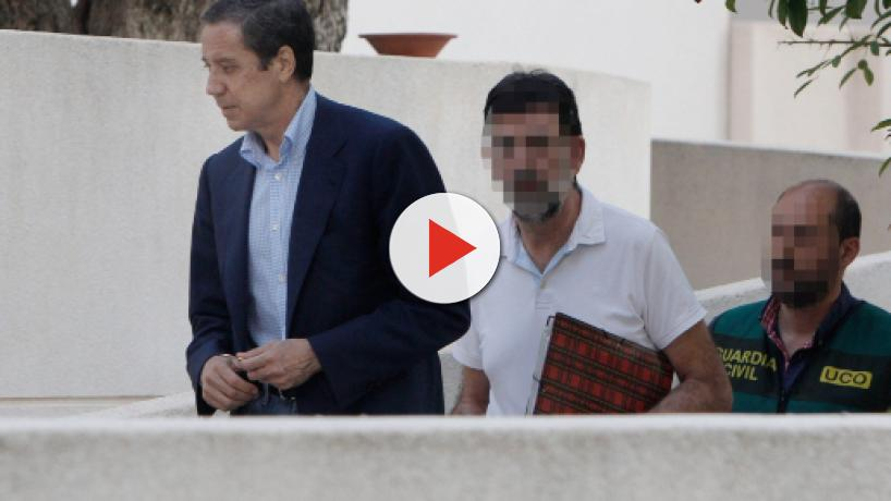 Zaplana es acusado por la UCO de estar al frente de una red corrupta