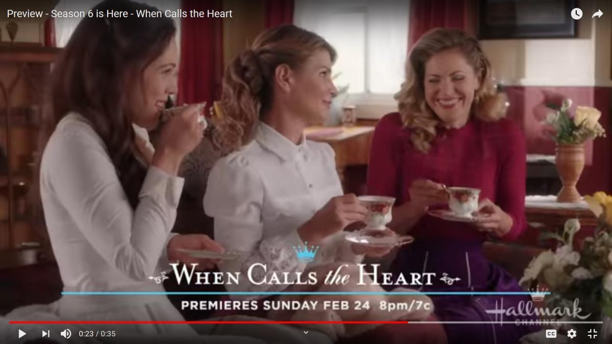 Erin Krakow, When Calls The Heart castmates share fun at TCA