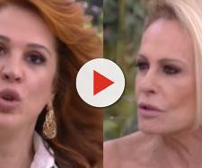 Ana Maria e Claudia Raia (Reprodução TV Globo)