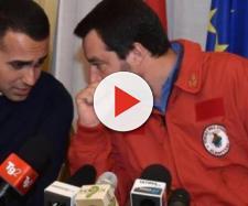 I vicepremier Di Maio e Salvini.