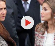 infanta Elena y reina Letizia en imagen
