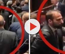 Marattin avrebbe schiaffeggiato il deputato del M5S.