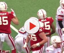 Two Cornhuskers football players were cited for theft by deception. [Image via Nebraska Cornhuskers Athletics/YouTube]