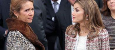 Supuesta bronca entre la reina Letizia y la infanta Elena por el status social