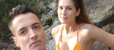 Leo Dias, morando com Livia Andrade, 'reclama' do tamanho das nova casa: 'me perdi'