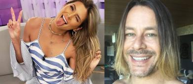 Theo Becker reage a crítica de Livia Andrade e detona foto dela de biquíni: 'um tanto velha'