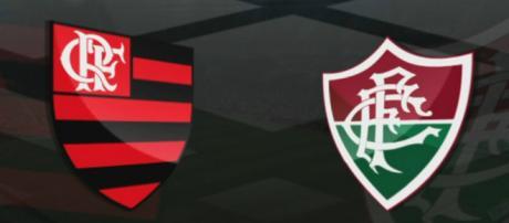 Flamengo x Fluminense ao vivo (Reprodução NetFlu)