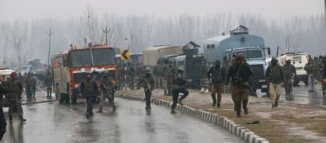 Pulwama: 30 CRPF troopers killed in suicide attack in Kashmir Photo- ( image credit- Doordarshan/ youtube.com)
