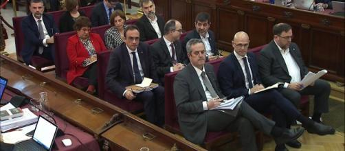 Fiscalía derrumba defensa en el juicio de los 12 líderes independentistas del procés