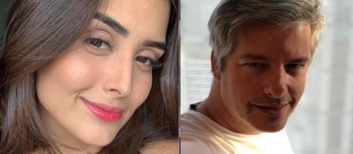 Letícia Almeida e Victor Chaves (Reprodução/Instagram)