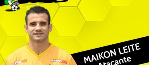 Maikon Leite é o novo reforço do Brasiliense para a temporada. (Foto: Divulgação/ Brasiliense)
