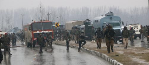 Pulwama: 30 CRPF troopers killed in suicide attack in Kashmir Photo- ( image credit- Doordarshan/ youtube.com)