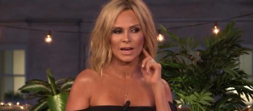 Tamra Judge is seen on 'Watch What Happens Live.' [Photo via YouTube/Bravo TV]