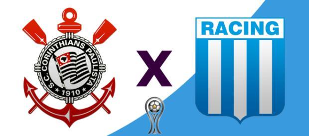 Corinthians x Racing ao vivo (Reprodução RedeTV)