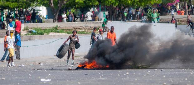 Haití cumple una semana de protestas contra el presidente Moise. - rtve.es