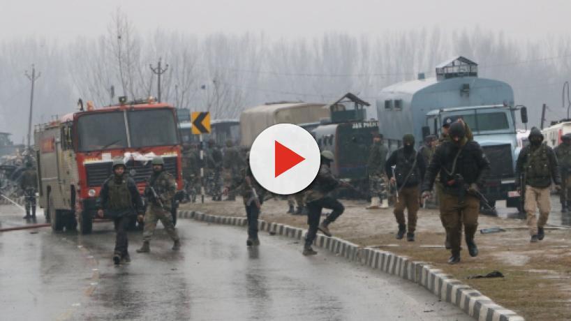 Jaish terrorists attack CRPF convoy in Kashmir, kill 40 personnel