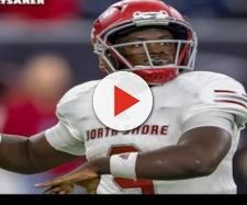 Dematrius Davis is setting a visit to Nebraska football [Image via MaxPreps/YouTube]