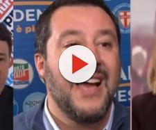 Matteo Renzi, Matteo Salvini e Federica Mogherini