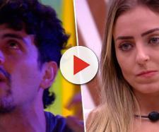 Maycon e Paula do BBB19 (Reprodução TV Globo)