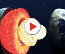 Scarica sfondi La struttura della Terra, lo spazio, i componenti ... - besthqwallpapers.com