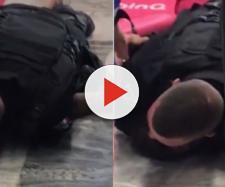 Segurança mata homem em mercado (Reprodução Youtube)