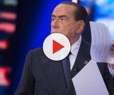 Silvio Berlusconi a L'Aria che Tira su La7.