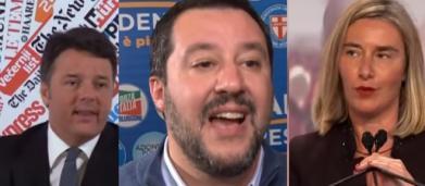 Renzi, come Salvini, attacca la Mogherini: 'Sua influenza pari a zero', ma la lanciò lui