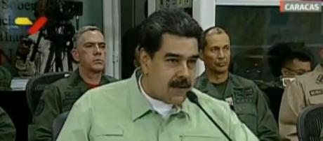 Maduro diz que fechará fronteira da Venezuela com o Brasil nesta quinta-feira (Reprodução/VTV)