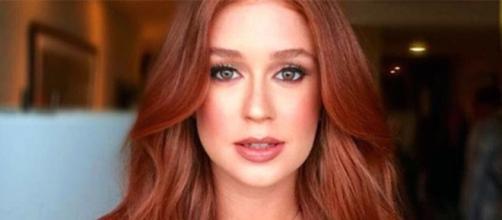 Atriz ganhou elogios dos internautas ao surgir sem maquiagem nas redes sociais. (Foto Reprodução: Instagram Marina Ruy Barbosa)