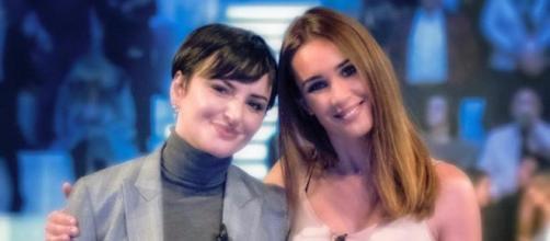 Da sinistra Arisa e Silvia Toffanin