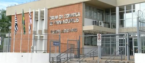 Fórum de Fernandópolis (Reprodução/TV Tem)